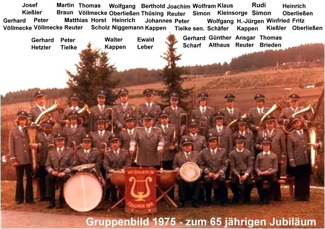 Gruppenbild 1975