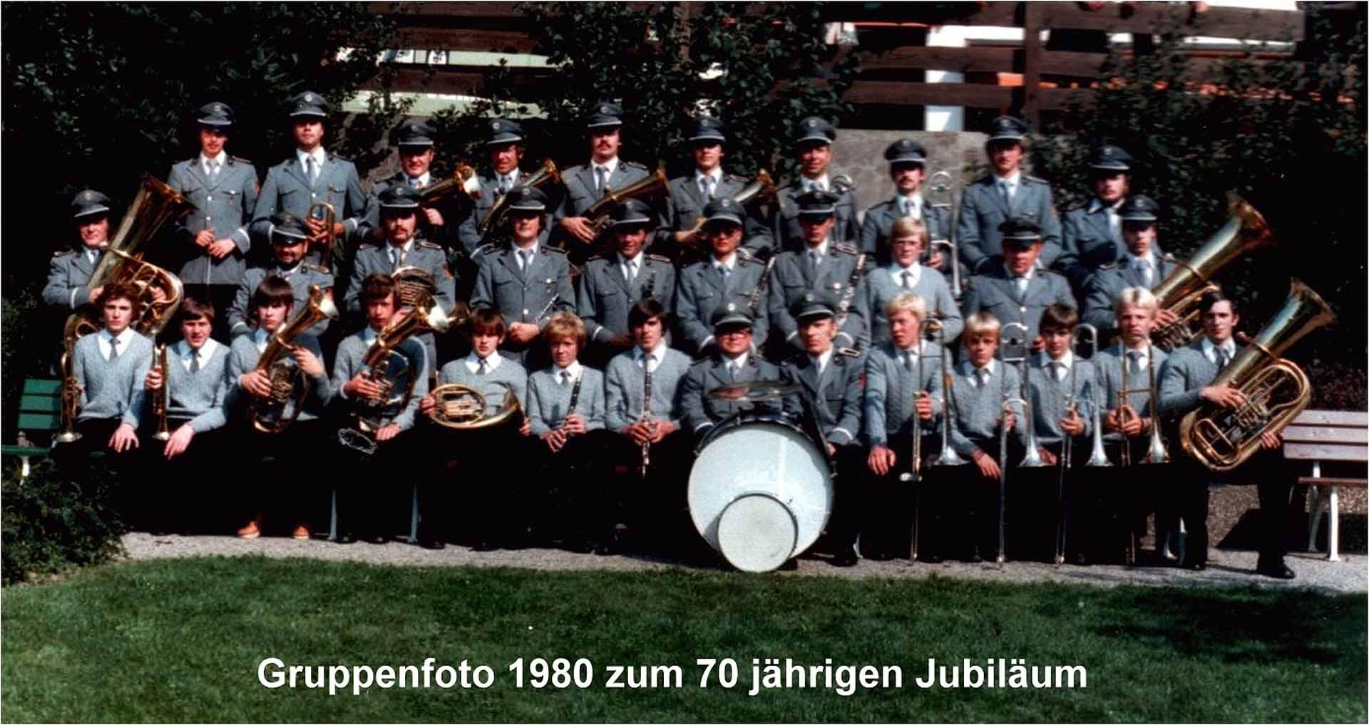Gruppenfoto 1980